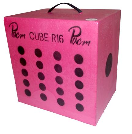 Cube 16″ rose
