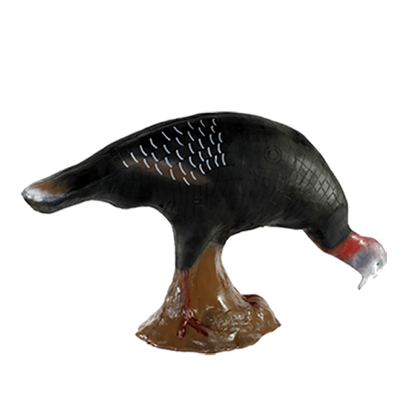 Cible animal 3D dindon